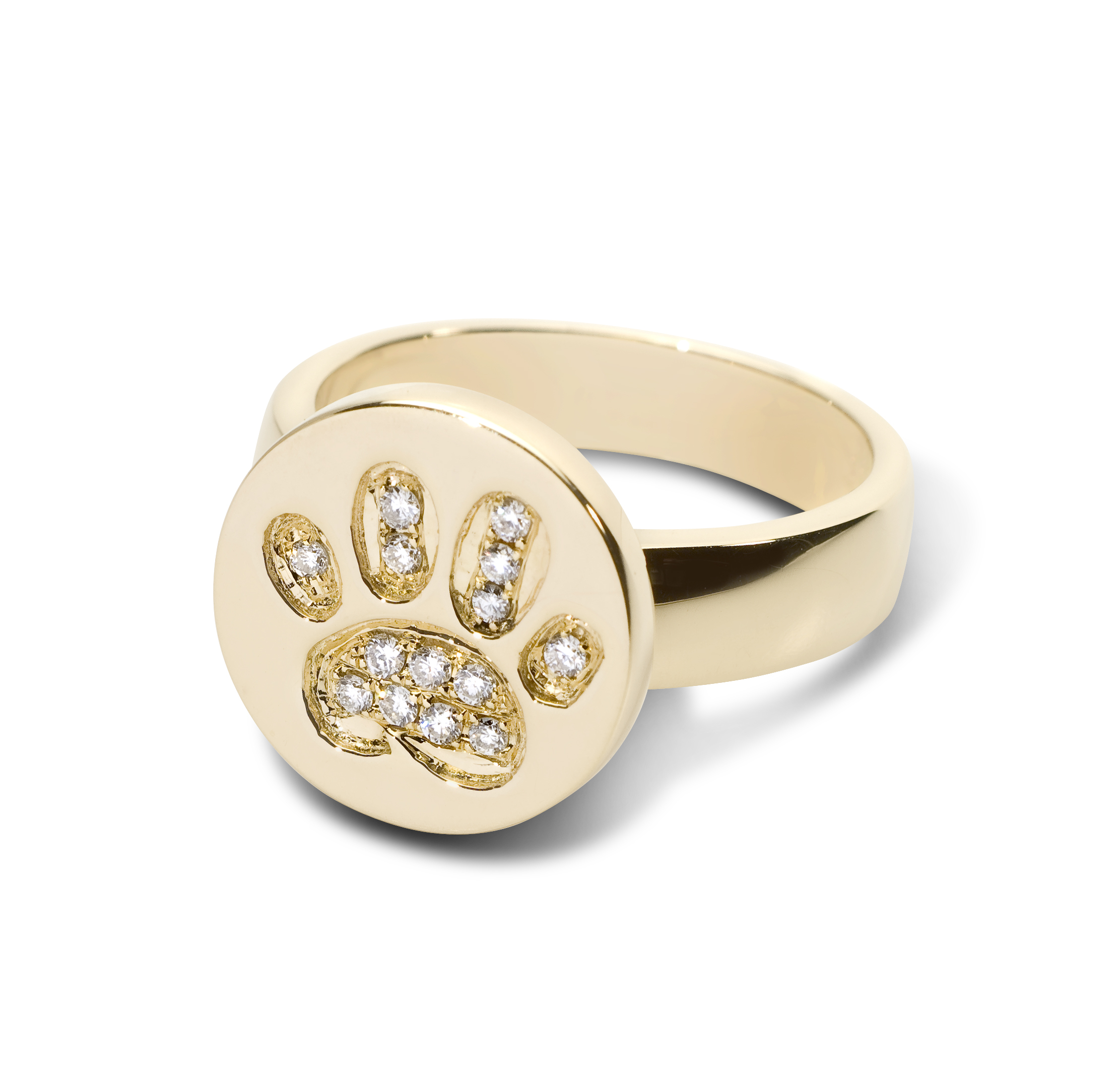 dia welch product lisa rings engagement designs themed yg paw kt ring diamond print
