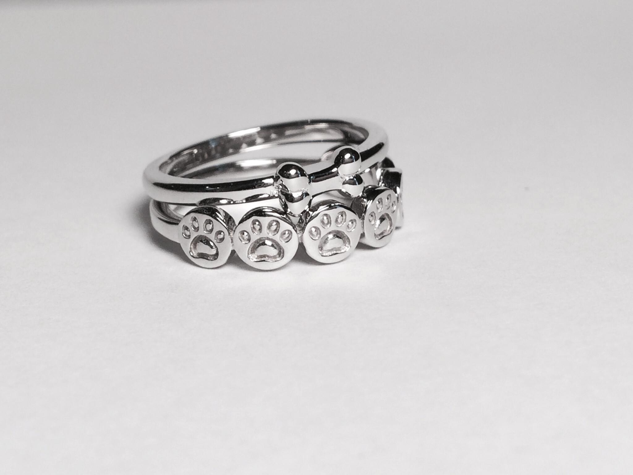 dog bone ring Archives Lisa Welch Designs