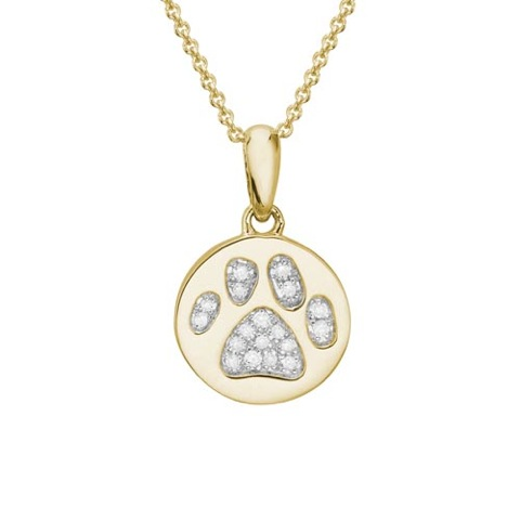 14kt yg diamond pave bone ring lisa welch designs diamond paw necklace 14kt yellow gold aloadofball Gallery